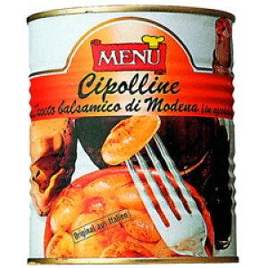 業務用野菜素材缶イタリア産メニュー【チポリーネ バルサミコ風味(820g)】
