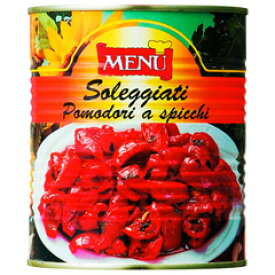 業務用野菜素材缶イタリア産メニュー【セミドライトマト オイル漬け(800g)】