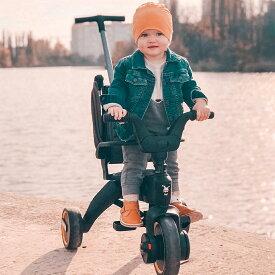 リキトライク グレイハウンド 世界最小 折りたたみ 三輪車 10ヶ月〜3歳 セカンドベビーカー 成長に合わせて 変形 1歳のお誕生日 プレゼント liki trike