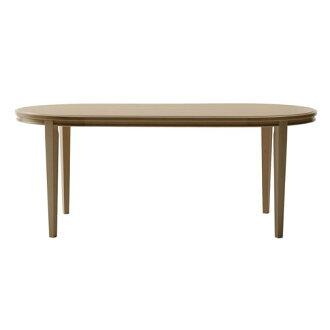 [最大14倍]Maruni收集marunicollection TRADITIONAL传统风格餐桌180橡木天然白色W1800×D900×H700mm(1289-35)