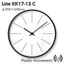 [最大25倍!]LEMNOS(レムノス)掛け時計時計台の時計KK17-13CLine寸法:φ305×d48mm【P10】【10P17Jun17】