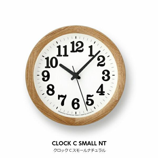 LEMNOS(レムノス)壁掛け時計置き時計兼用クロックCスモールClockCSmallYK15-05【P10】