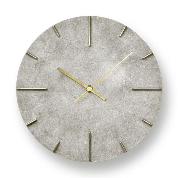 [最大30倍]LEMNOS(レムノス)壁掛け時計 Quaint/斑紋純銀色(AZ15-06SL)[ウォールクロック 高級感 安積伸 日本製 新築祝 開業祝]【P10】【10P15Sep17】