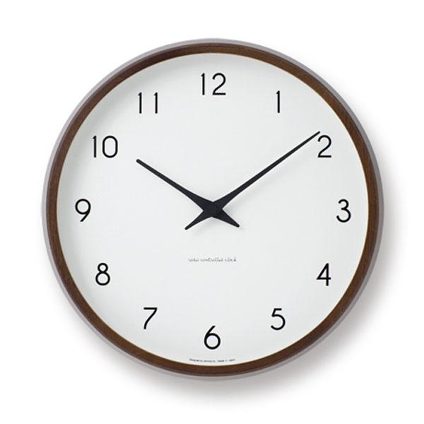 [最大28倍]LEMNOS(レムノス)壁掛け時計Campagneカンパーニュブラウン色lm-PC10-24WBW【楽ギフ_包装】【楽ギフ_のし宛書】【P10】【10P06Jan18】