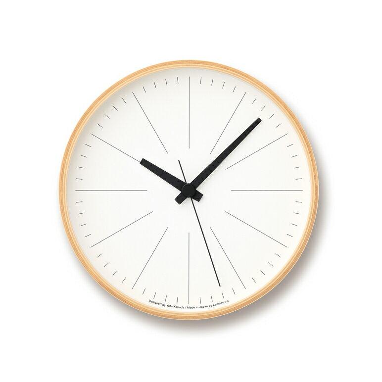 [最大25倍]LEMNOS(レムノス)壁掛け時計ラインの時計MサイズYK16-02M【P10】【10P14Apr18】