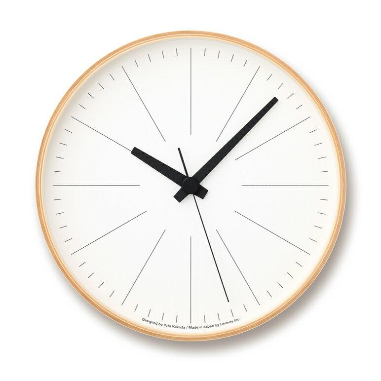 [最大25倍]LEMNOS(レムノス)壁掛け時計ラインの時計LサイズYK16-02L【P10】【10P14Apr18】