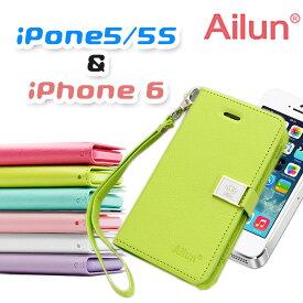 1716d182f6 Ailun 正規品 iPhone 6 5 5s ケース (全7色) ストラップ 付き (