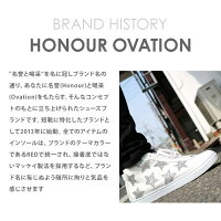 アナーオベーション(HonourOvation)スニーカーミドルカットスニーカー3070