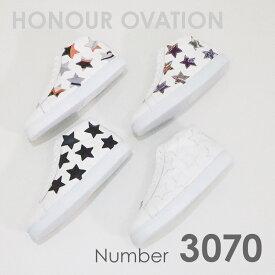 アナーオベーション(Honour Ovation) スニーカー ミドルカットスニーカー 3070