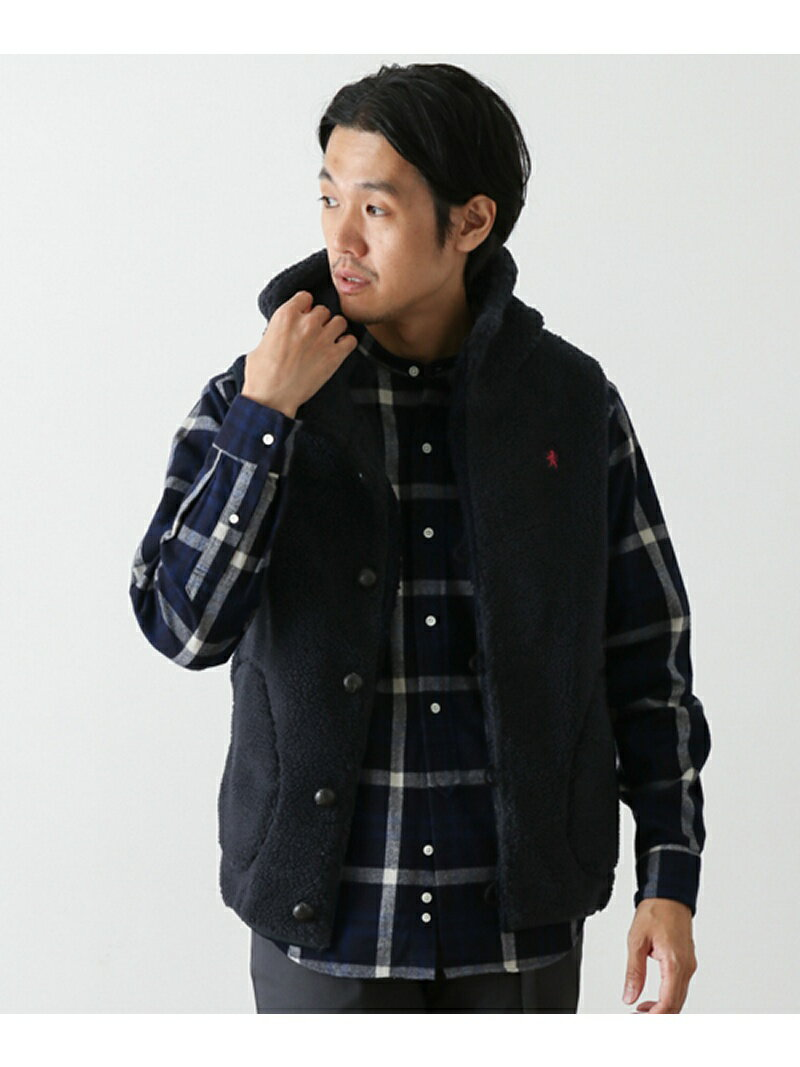 DOORS GYMPHLEX T/A BOA VEST アーバンリサーチドアーズ【送料無料】