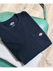 [Rakuten Fashion]DANTONクルーネック半袖ポケットTシャツ DOORS アーバンリサーチドアーズ カットソー Tシャツ ネイビー ホワイト ブラック ベージュ オレンジ【送料無料】