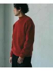 [Rakuten Fashion]【予約】ハミルトンウールモックネックニット DOORS アーバンリサーチドアーズ ニット ニットその他 レッド ブラウン ブルー【先行予約】*【送料無料】