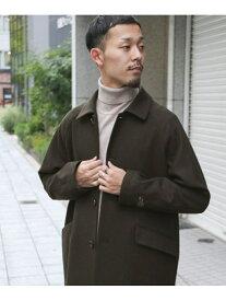 [Rakuten Fashion]【予約】ウールステンカラーコート DOORS アーバンリサーチドアーズ コート/ジャケット ステンカラーコート ブラウン ネイビー【先行予約】*【送料無料】