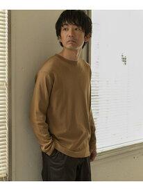 [Rakuten Fashion]TECH スムース ロングスリーブ Tシャツ DOORS アーバンリサーチドアーズ カットソー Tシャツ ホワイト ブラック【送料無料】