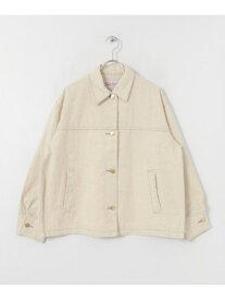 [Rakuten Fashion]【SALE/40%OFF】SMITH'S BIG size Jean Jacket DOORS アーバンリサーチドアーズ コート/ジャケット カバーオール ホワイト グリーン【RBA_E】【送料無料】