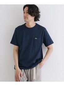 [Rakuten Fashion]LACOSTE ベーシッククルーネックポケットTシャツ DOORS アーバンリサーチドアーズ カットソー Tシャツ【送料無料】