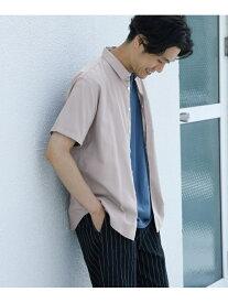 [Rakuten Fashion]パナマドビーショートスリーブシャツ DOORS アーバンリサーチドアーズ シャツ/ブラウス シャツ/ブラウスその他 グレー【送料無料】