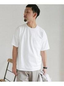 [Rakuten Fashion]【SALE/20%OFF】ポンチポケットTシャツ DOORS アーバンリサーチドアーズ カットソー Tシャツ パープル ホワイト ベージュ ブルー ブラック【RBA_E】