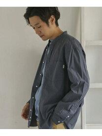 [Rakuten Fashion]GYMPHLEX2COLORバンドカラーシャツ DOORS アーバンリサーチドアーズ シャツ/ブラウス シャツ/ブラウスその他 ブルー【送料無料】