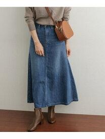 [Rakuten Fashion]デニムフレアロングスカート DOORS アーバンリサーチドアーズ スカート スカートその他 ブルー【送料無料】