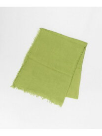 [Rakuten Fashion]LELLE-LCOTTONSCARF DOORS アーバンリサーチドアーズ ファッショングッズ スカーフ/バンダナ グリーン グレー ベージュ