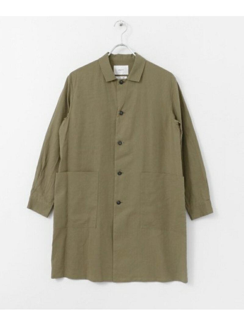 [Rakuten BRAND AVENUE]UNIFY Long Shirts Coat DOORS アーバンリサーチドアーズ コート/ジャケット【送料無料】
