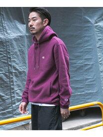 [Rakuten Fashion]Champion×DOORS別注RWフーディー DOORS アーバンリサーチドアーズ カットソー パーカー グレー オレンジ【送料無料】