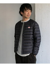[Rakuten Fashion]DANTON クルーネックインナーダウンジャケット DOORS アーバンリサーチドアーズ コート/ジャケット ダウンジャケット ブラック ネイビー ブラウン【送料無料】