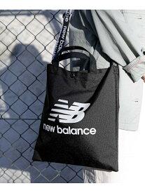 [Rakuten Fashion]NEW BALANCE×DOORS 別注ロゴトートバッグ DOORS アーバンリサーチドアーズ バッグ トートバッグ ブラック ベージュ