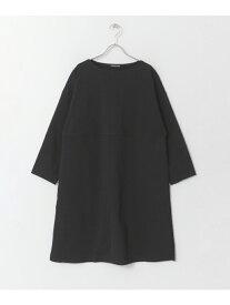 [Rakuten Fashion]mizuiro-indboatneckdolmanone-piece DOORS アーバンリサーチドアーズ ワンピース ワンピースその他 ブラック グレー【送料無料】