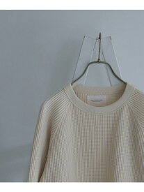 [Rakuten Fashion]ULTRATHERMOワッフルロングスリーブTシャツ DOORS アーバンリサーチドアーズ カットソー Tシャツ ホワイト ベージュ レッド ブラック【送料無料】
