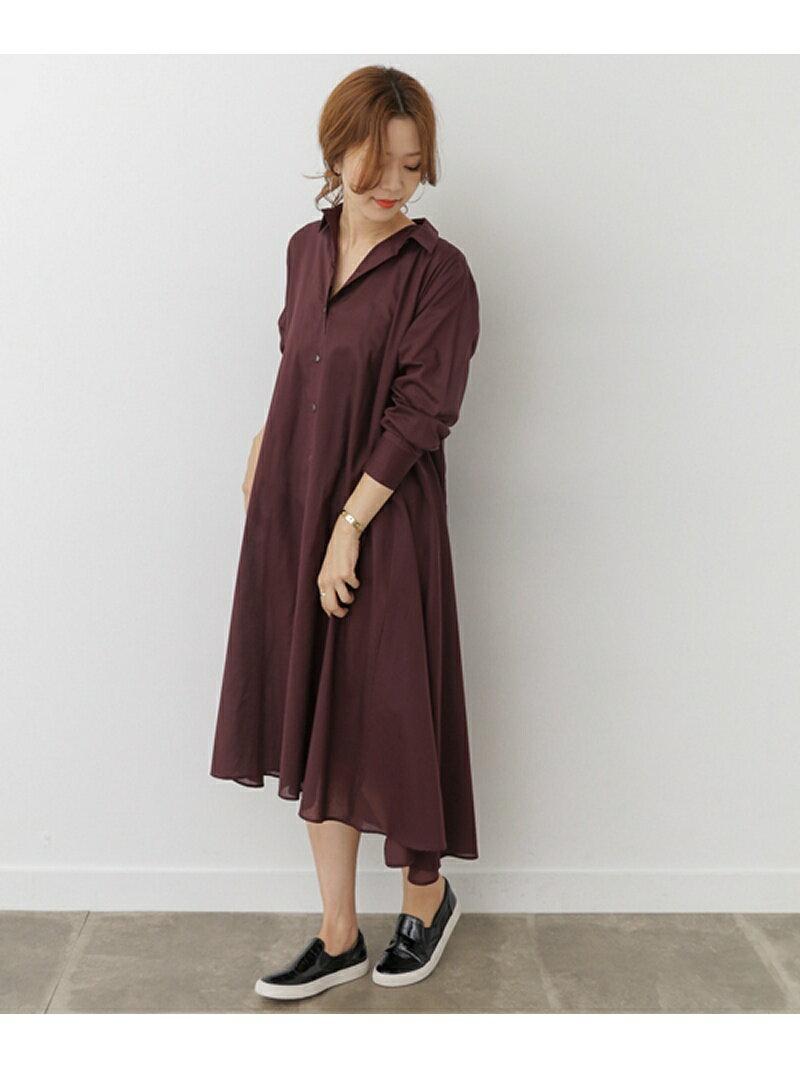 DOORS mizuiro-ind flared long shirt one-piece アーバンリサーチドアーズ【送料無料】