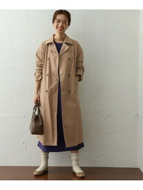 [Rakuten Fashion]コットンオーバートレンチコート DOORS アーバンリサーチドアーズ コート/ジャケット トレンチコート ベージュ ネイビー【送料無料】
