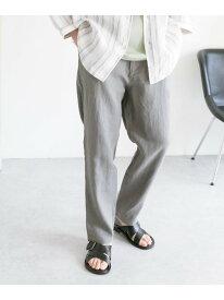 ハードマンズリネン イージートラウザー DOORS アーバンリサーチドアーズ パンツ/ジーンズ パンツその他 グリーン ホワイト ブルー ブラック【送料無料】[Rakuten Fashion]