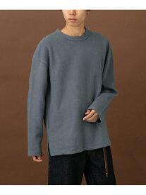 [Rakuten Fashion]FORK&SPOONミーナウラケ表使プルオーバー DOORS アーバンリサーチドアーズ カットソー Tシャツ ブルー ベージュ【送料無料】