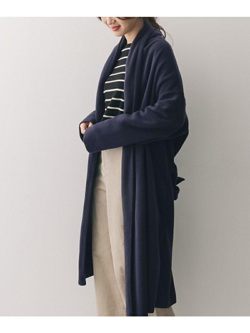 [Rakuten BRAND AVENUE]mizuiro-ind long drape cardigan with belt DOORS アーバンリサーチドアーズ コート/ジャケット【送料無料】