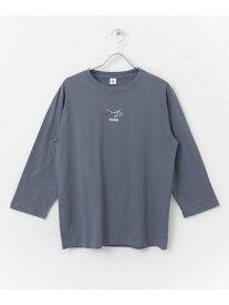 [Rakuten Fashion]【SALE/60%OFF】HangTシャツ DOORS アーバンリサーチドアーズ カットソー Tシャツ ホワイト ベージュ【RBA_E】