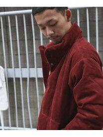 [Rakuten Fashion]【BEGIN1月号掲載】コーデュロイダウンジャケット DOORS アーバンリサーチドアーズ コート/ジャケット ダウンジャケット レッド ベージュ グリーン ブラウン ネイビー【送料無料】