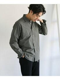 [Rakuten Fashion]【SALE/40%OFF】ハイカウントチェックロングスリーブシャツ DOORS アーバンリサーチドアーズ シャツ/ブラウス シャツ/ブラウスその他 ベージュ ブラック【RBA_E】【送料無料】