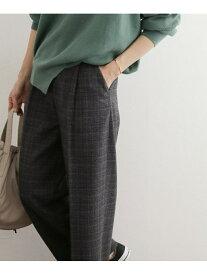 [Rakuten Fashion]グレンチェックトラウザー DOORS アーバンリサーチドアーズ パンツ/ジーンズ パンツその他 グレー【送料無料】