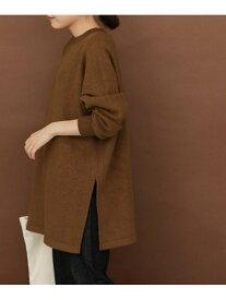 [Rakuten Fashion]FORK&SPOONツイル裏毛チュニック DOORS アーバンリサーチドアーズ ワンピース チュニック ブラウン グレー【送料無料】