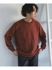 [Rakuten Fashion]ツイル裏毛クルーネックスウェット DOORS アーバンリサーチドアーズ カットソー スウェット ブラウン ホワイト ブラック【送料無料】