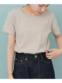 [Rakuten Fashion]FORK&SPOONミジンボーダーフライスTシャツ DOORS アーバンリサーチドアーズ カットソー Tシャツ ブルー ホワイト