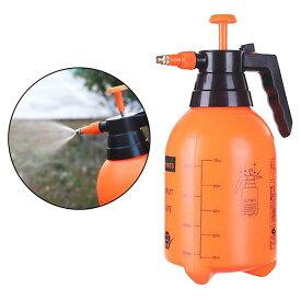 スプレー 蓄圧式ガーデンスプレー 2L ポンプ式 噴霧器 手動式 噴霧器 水ポンプ 霧吹き 手動加圧ポンプ 頑丈 加圧ポンプ 噴霧 霧吹き調整できる 肥料や除草剤まき 水やり 洗車 風呂