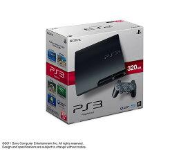 【中古】PS3 本体 (320GB) チャコールブラック CECH-3000B/ 中古 ゲーム