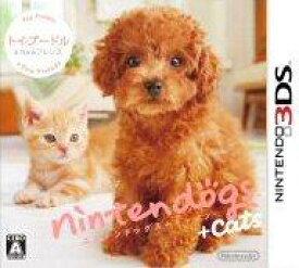 【中古】nintendogs + cats トイプードル & Newフレンズ 3DS CTR-P-ADCJ/ 中古 ゲーム