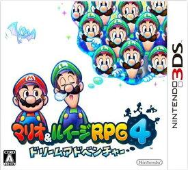 【中古】マリオ&ルイージRPG4 ドリームアドベンチャー 3DS CTR-P-AYMJ/ 中古 ゲーム