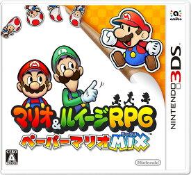 【新品】 マリオ&ルイージRPG ペーパーマリオMIX 3DS CTR-P-AYNJ / 新品 ゲーム