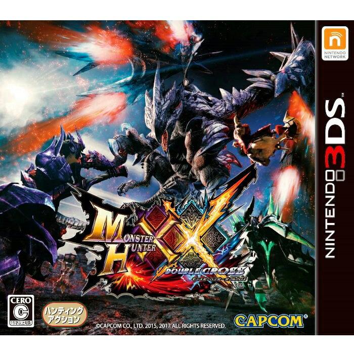 【中古】 モンスターハンター ダブルクロス 3DS CTR-P-AGQJ / 中古 ゲーム