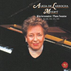 【新品】【CD】モーツァルト:ピアノ・ソナタ第8番、第10番 第11番「トルコ行進曲付き」&第15番 アリシア・デ・ラローチャ(p)